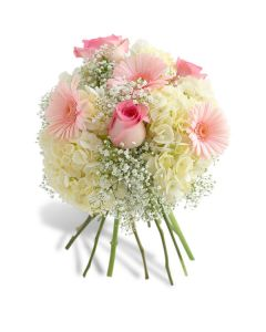 Dainty Pink And White Bouquet